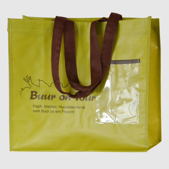 PP-Woven carrier bags